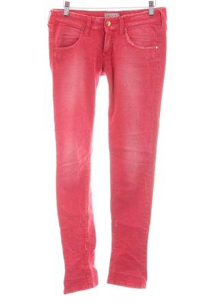 Met in Jeans Slim Jeans rot Casual-Look