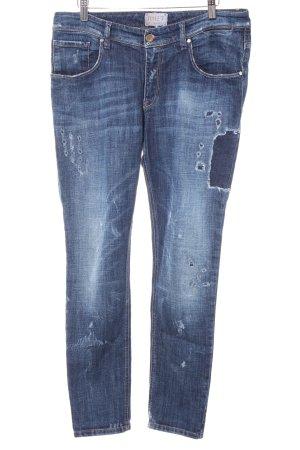 Met in Jeans Slim Jeans dunkelblau Casual-Look