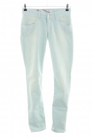Met in Jeans Straight-Leg Jeans türkis Casual-Look