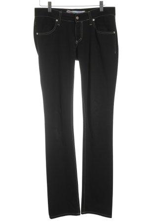 Met in Jeans Straight-Leg Jeans schwarz Casual-Look