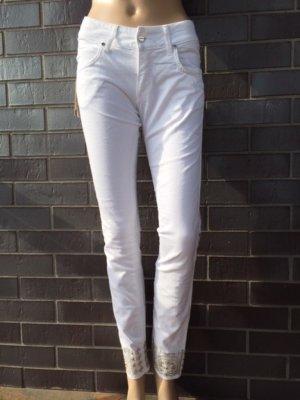 MET Jeans skinny bianco