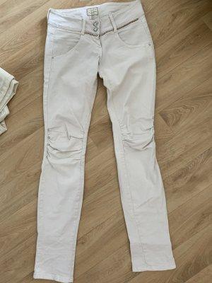 Met in Jeans Tube Jeans white