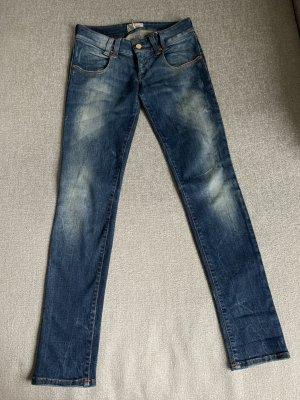 MET Jeans a sigaretta blu scuro