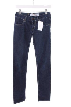 MET Jeans a sigaretta blu scuro stile casual