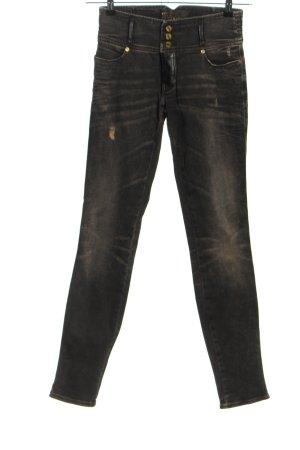MET Jeans a sigaretta grigio chiaro stile casual