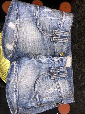 MET Shorts oro-blu acciaio