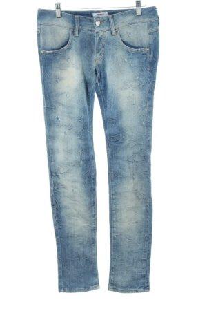 MET Skinny Jeans blau Jeans-Optik