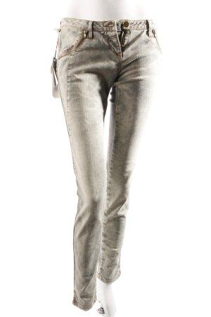 MET skinny jeans gray green