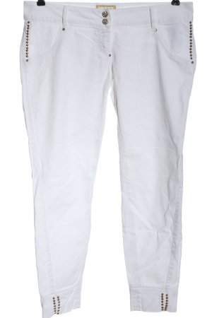MET Jeans slim fit bianco stile casual
