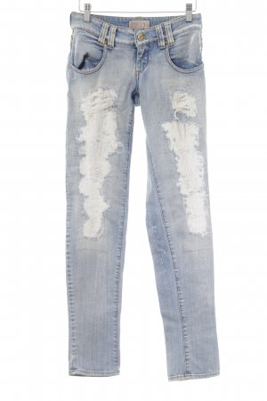 MET Jeans slim fit multicolore Logo applicato (in metallo)