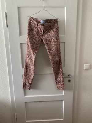 MET Pantalon cinq poches multicolore coton