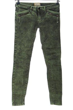 MET Jeans elasticizzati grigio chiaro-verde stile casual
