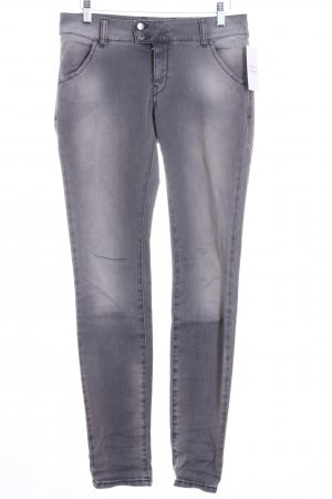 MET Jeans elasticizzati grigio stile casual
