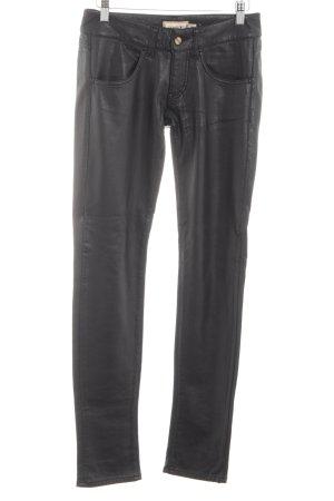 MET Pantalone elasticizzato nero stile casual