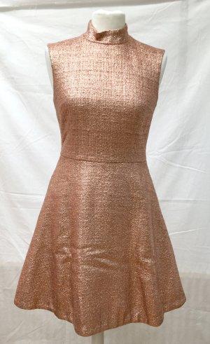 Metalic Kupfer Kleid Markus Lupfer