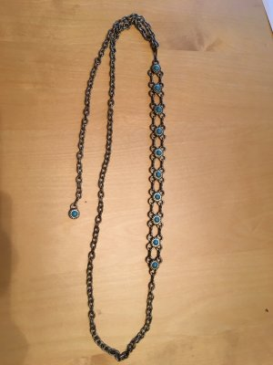 Chain Belt turquoise-anthracite metal