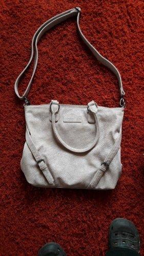 metallfarbene Handtasche / Umhängetasche aus Fritzi aus Preussen