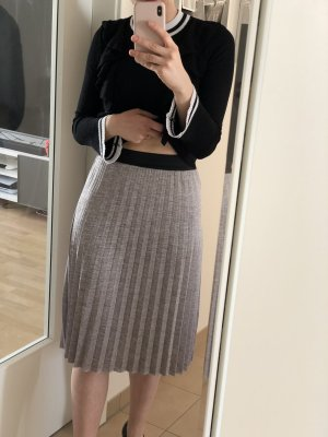 Jupe mi-longue multicolore