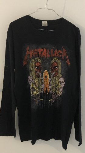 Metallica Bandshirt L schwarz rot