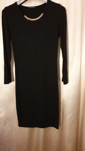 Falda estilo lápiz negro Viscosa