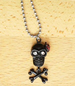 mexican Skull Totenkopf Gothic Kette