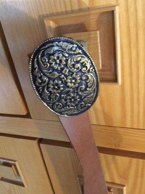 Mexiko Ledergürtel 90 cm