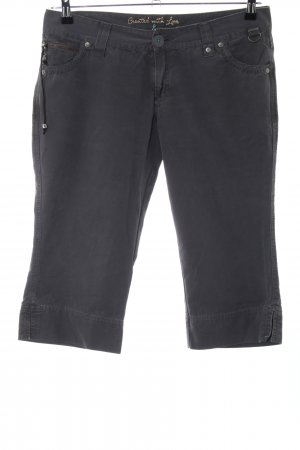 Mexx Pantalon 3/4 noir style décontracté