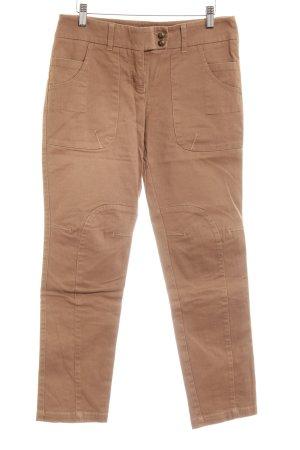 Mexx 7/8 Jeans hellbraun Casual-Look