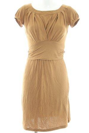 Mexx A-Linien Kleid sandbraun Casual-Look