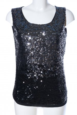 Mexx ärmellose Bluse schwarz Elegant