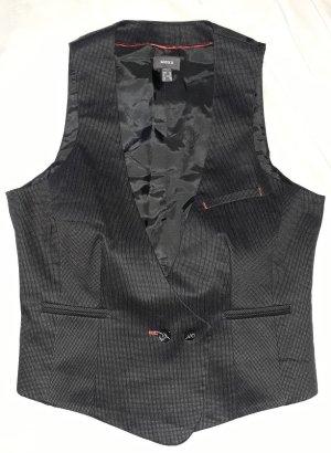 Esprit Kamizelka garniturowa czarny Bawełna