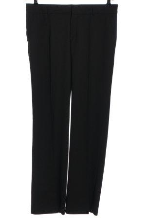 Mexx Pantalón de vestir negro look casual
