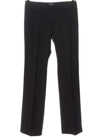 Mexx Pantalón de vestir negro estampado a rayas estilo «business»