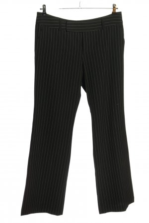 Mexx Suit Trouser black-white allover print business style