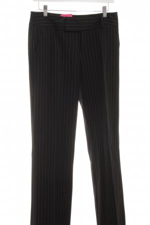 Mexx Anzughose schwarz-weiß Business-Look
