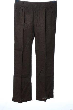Mexx Baggy Pants dunkelbraun Business-Look