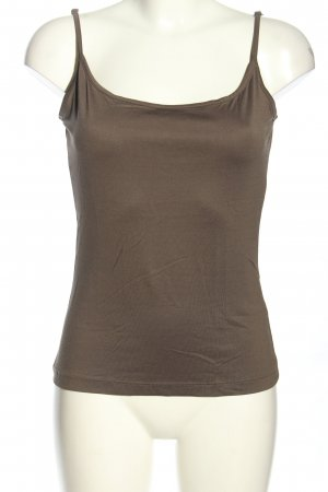 Mexx Basic topje bruin casual uitstraling