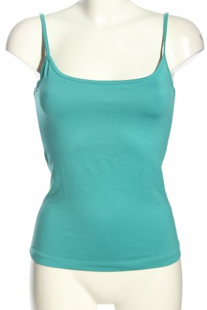 Mexx Basic topje turkoois casual uitstraling