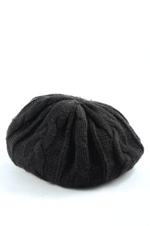 Mexx Beret baskijski czarny W stylu casual