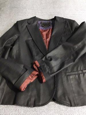 Mexx Blazer vaquero gris antracita-negro