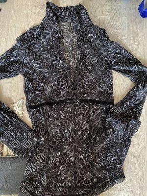 Mexx Cols de blouses noir-blanc