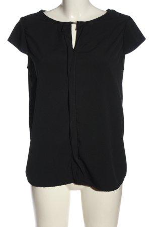 Mexx Blusenshirt schwarz Casual-Look