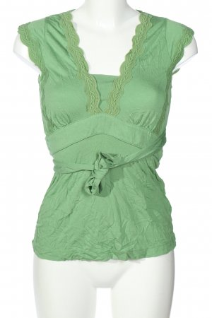 Mexx Blusentop grün Casual-Look
