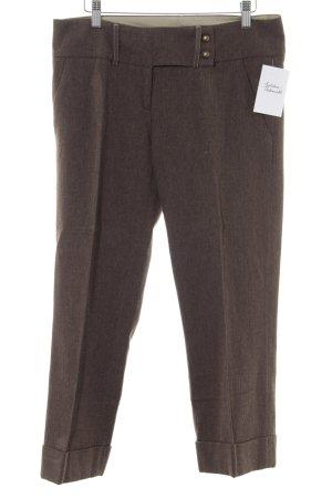 Mexx Pantalón de pinza marrón grisáceo-color bronce moteado look «Brit»