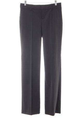 Mexx Bundfaltenhose schwarz-grau Nadelstreifen Business-Look