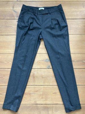 Mexx Pantalón de pinza gris oscuro-gris antracita Poliéster