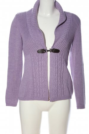 Mexx Cardigan lila Casual-Look