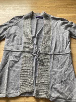 Mexx Szydełkowany sweter jasnoszary
