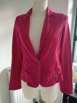 Mexx Blazer de tela de sudadera rosa-violeta Algodón