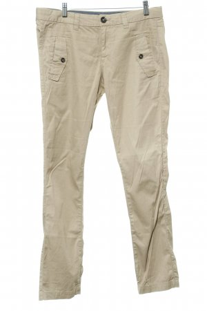 Mexx Chinohose beige Casual-Look